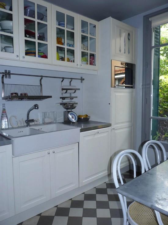 cuisine bleue et blanche nuance d 39 int rieur photo n 32