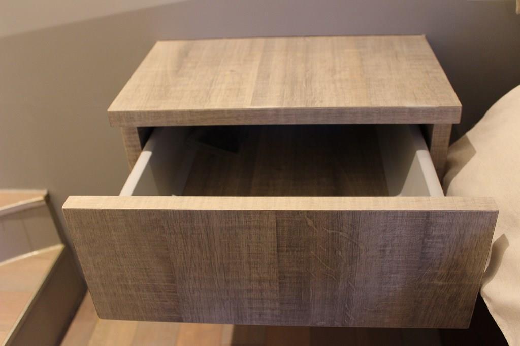 beautiful chevet suspendu avec tiroir #9: chevet-tiroir chêne