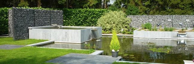 Bassin de jardin moderne - Bassin moderne ...
