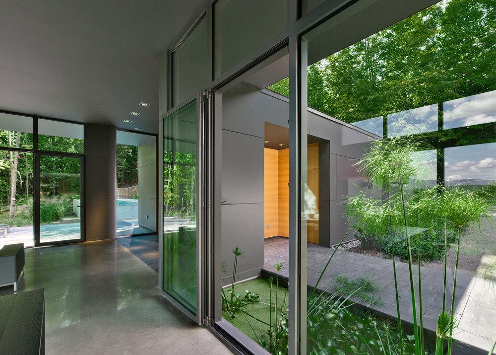 Magnifique maison contemporaine multi mat riaux au qu bec par l 39 architect - Interieur de maison de reve ...