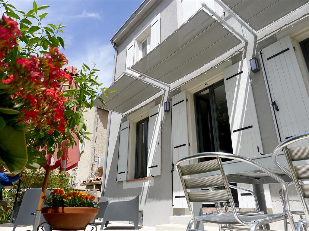 R novation extension maison de ville - Protection solaire maison ...