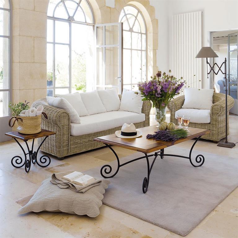 Table Basse Blanche Avec Rangement Pour Bar Integre ~   Du Salon > Tables Basses > Table Basse En Bois De Sheesham Massif Et