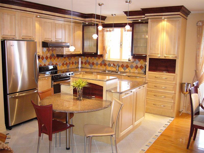 Meuble De Cuisine En Bois. Style Et Lgance Pour Votre Maison U2013 ...
