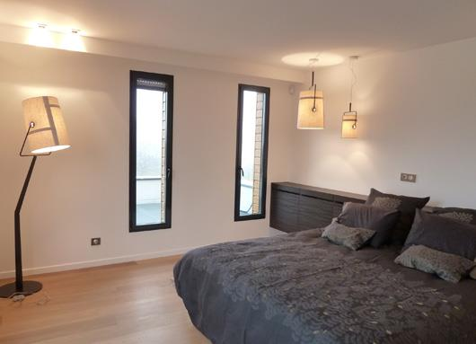 chambre adulte blanche et grise emilie bigorne photo n 46. Black Bedroom Furniture Sets. Home Design Ideas