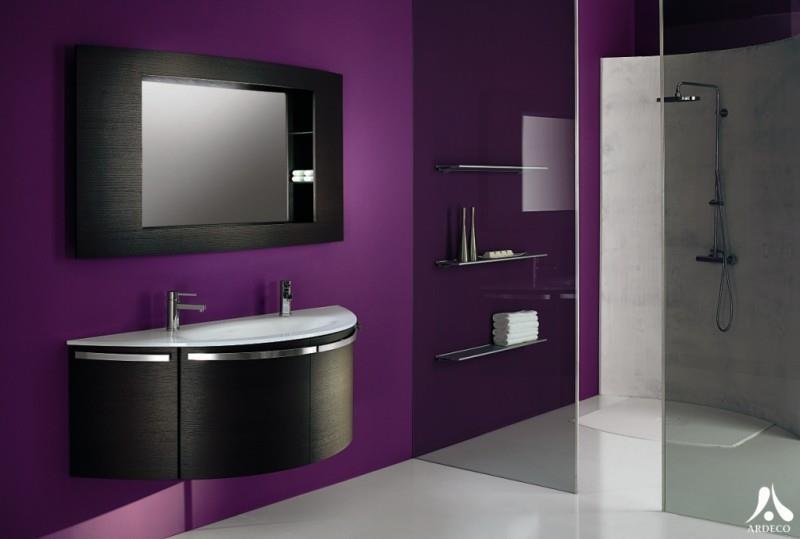 salle de bain orange et taupe 934536 salle de bain design - Salle De Bain Noir Et Taupe