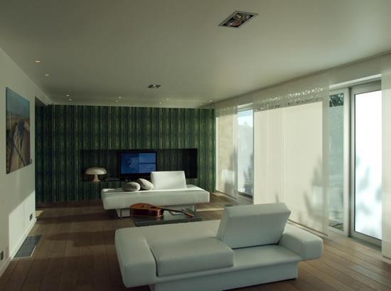 Salon reposante lumi re tamis e bb architecture d for Lumiere salon decoration