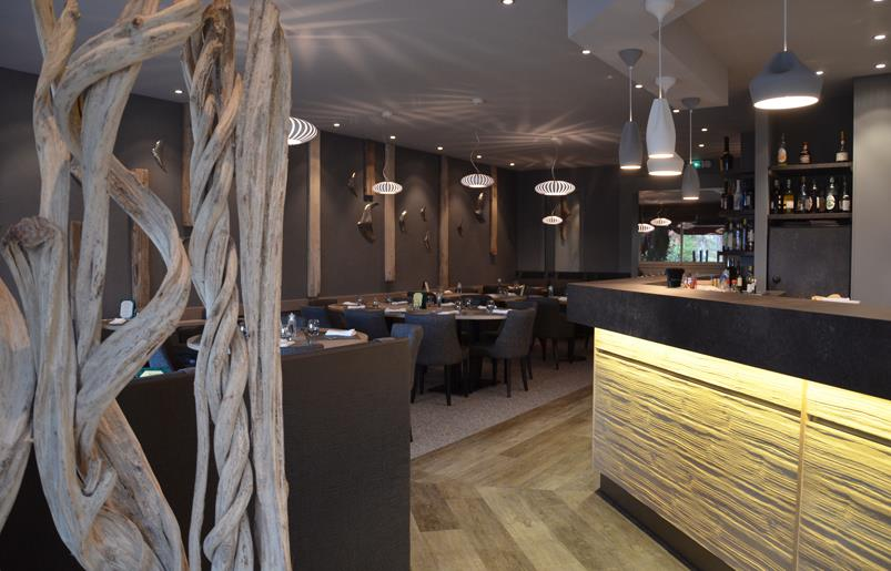 Comptoir Bar Design. Finest Comptoir Revtement En Bois De Fs With ...
