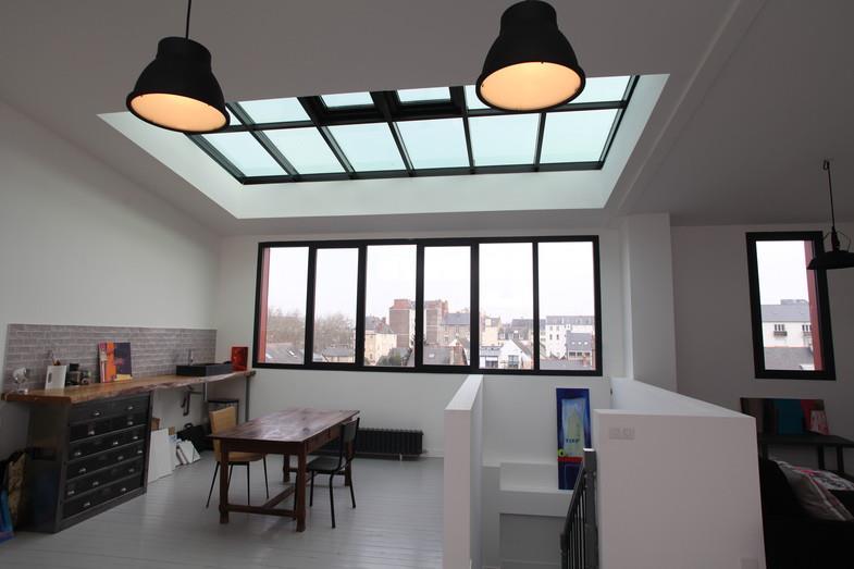 atelier sous verri re l 39 tage claire dupriez photo n 75. Black Bedroom Furniture Sets. Home Design Ideas