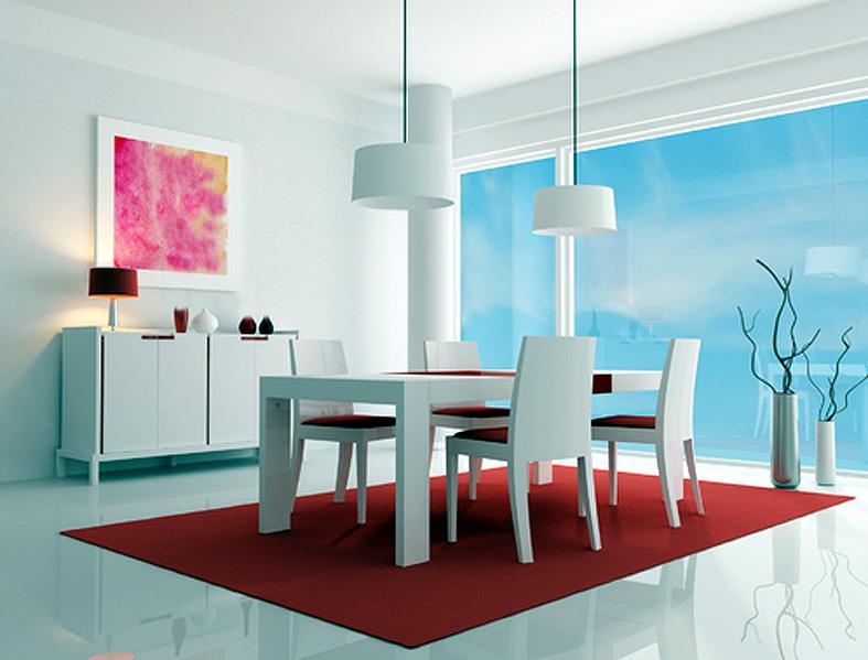 Cuisine salle manger cuisine salle mangers - Cuisine toute blanche ...