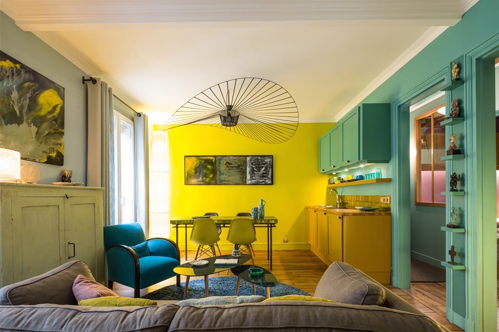 Restructuration D Un Petit Appartement De 32 M2 Paris