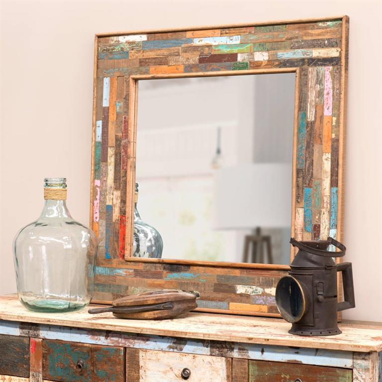 Miroir Bois Flotte Maison Du Monde : de l'entr?e et couloir > Miroirs > Miroir en bois H 90 cm BOH?ME