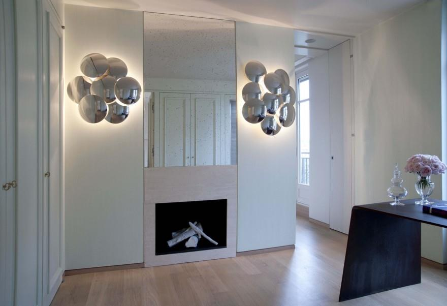 grand miroir contemporain
