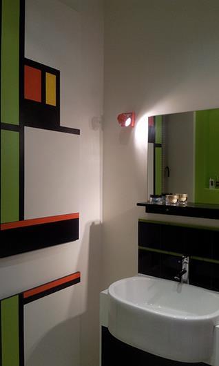 Chambre et salle de bain pour adolescent - Couleur salle de bain moderne ...