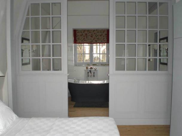 salle de bain beige et prune suite parentale chambre salle de bain beige prune gris - Salle De Bain Beige Et Prune