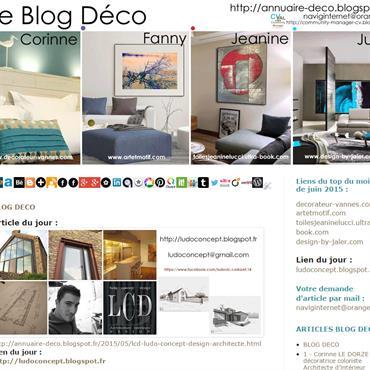 Bienvenue sur le BLOG DECO  :: http://annuaire-deco.blogspot.fr  Vous êtes sur un blog personnel qui répertorie en articles présentations des professionnels ... Domozoom