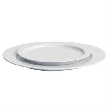 Assiette à dessert Driade Kosmo Design Blanc Céramique Ø 19,5 cm Une simplicité irrésistible ! ´´Anatolia´´ d´Antonia Astori est un service de table complet réalisé en porcelaine blanche. Elégant et ...