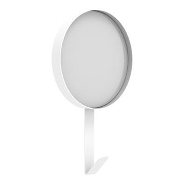 Miroir Hook / Patère - Ø 37 x H 51 cm
