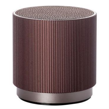 Enceinte Bluetooth Lexon Design Bordeaux Matière plastique ? 6,5 x H 6,7 cm Idéale pour toutes les fashionistas qui aiment emporter leur bande son partout avec elles, lenceinte Bluetooth Fine ...