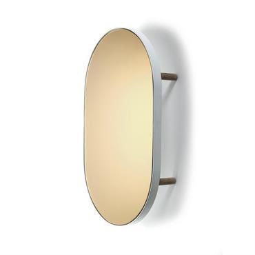 Plateau miroir ovale Studio Simple - Serax