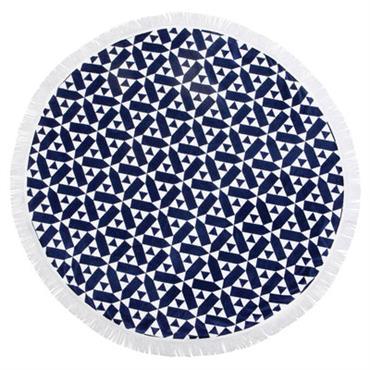 Drap de bain Castillo / Ø 150 cm - Coton éponge
