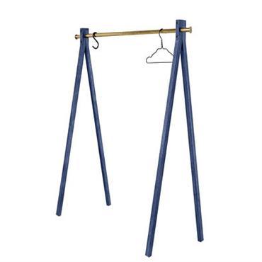 Portant Dress-up Kids / L 90 cm - Nomess Bleu