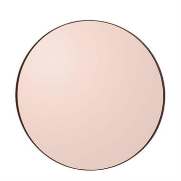 Miroir Circum Small / Ø 70 cm - AYTM Rose fumé en Métal