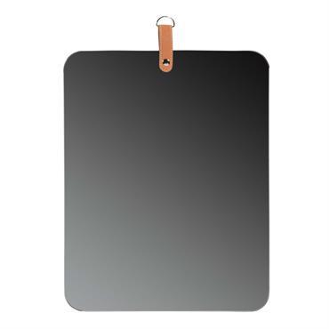 Miroir gris H 45 cm SMOKE