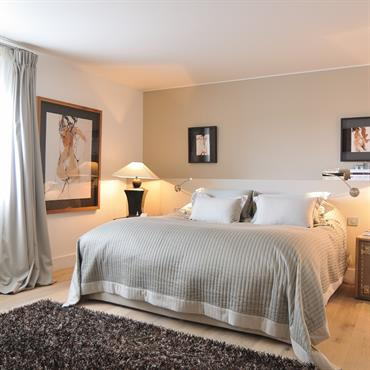 Chambre style lodge Africain standing