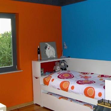 P o chambre couleur orange ~ Design de maison