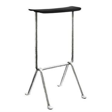 Tabouret de bar Officina / Polypropylène - H 75 cm - Magis Noir
