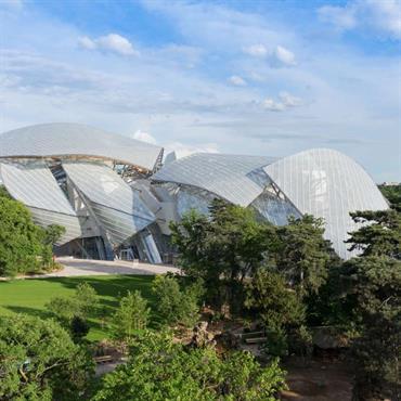 Fondation Louis Vuitton Architecture Frank Gehry Crédit photo : fondationlouisvuitton.fr