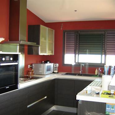 quelle couleur mettre dans une cuisine ouverte sur la pice principale cette cuisine a fait. Black Bedroom Furniture Sets. Home Design Ideas