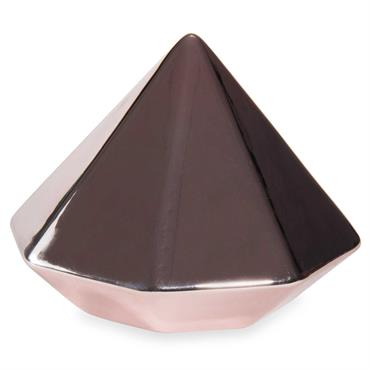 Presse-papier en céramique COPPER DIAMOND