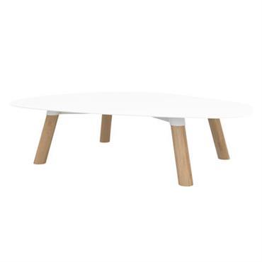 Table basse Turtle Large / Bois & métal - 100 x 78