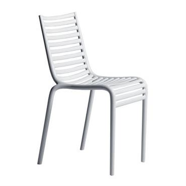 Chaise empilable PIP-e / Plastique - Driade Blanc en Matière plastique