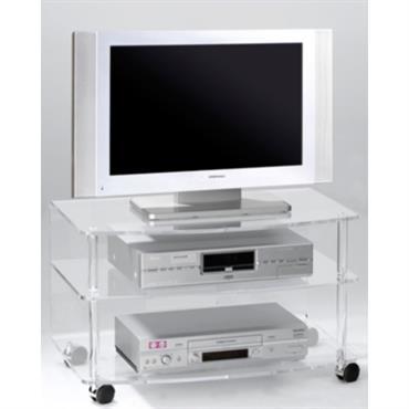 Meuble TV Cristaline Altuglas incolore