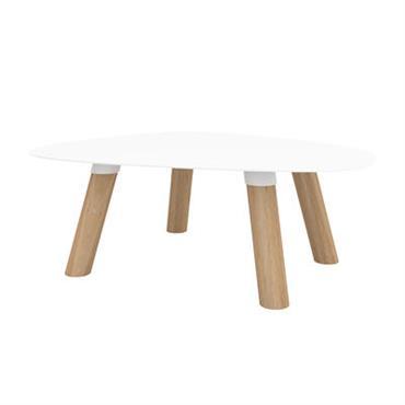 Table basse Turtle Small / Bois & métal - 50 x 40