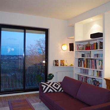 Biblioth que sur mesure 7 id es d co ajust es vos murs par emmanuelle lar - Bibliotheque murale blanc ...