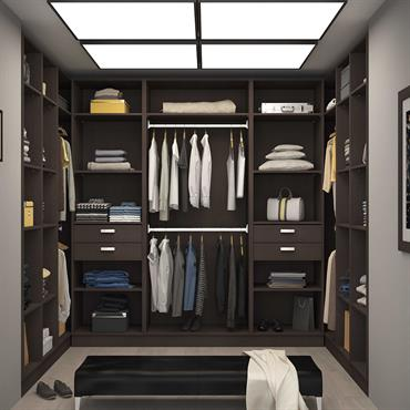Dressing-Room en U sur-mesure