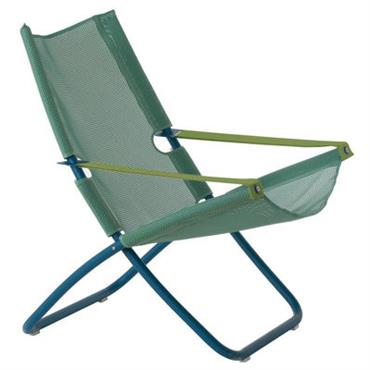 Chaise longue Snooze - Emu Bleu en Métal