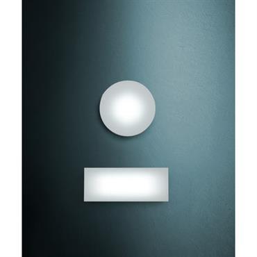 Applique Sole /Plafonnier - 144 LED - Rectangulaire - Fontana Arte Blanc