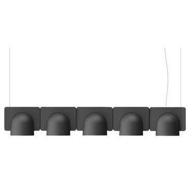 Suspension Igloo 5 LED / L 110 cm - Eclairage direct