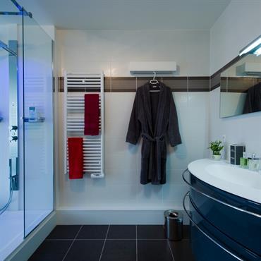 Salle de bain moderne id es photos tendances domozoom for Salle de bain moderne avec douche