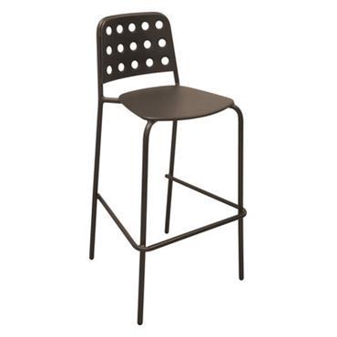Chaise de bar Shot / H 75 cm - Métal