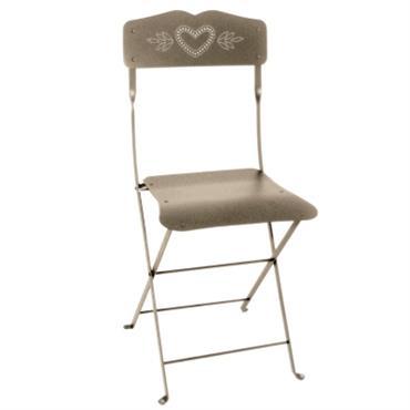 Lot de 2 chaises pliantes FERMOB Cur