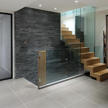 Escalier monolite