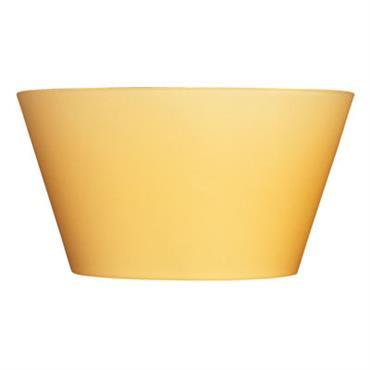 Applique Ananas L 21 cm - Fontana Arte Ambre en Verre