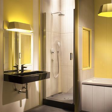 De nombreuses demandes nous sont faites pour utiliser les Panneaux en béton Panbeton® dans des salles de bain ou des douches