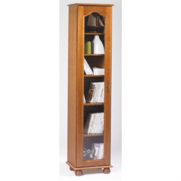 Bibliothèque Cluzel 1 porte teinté chêne