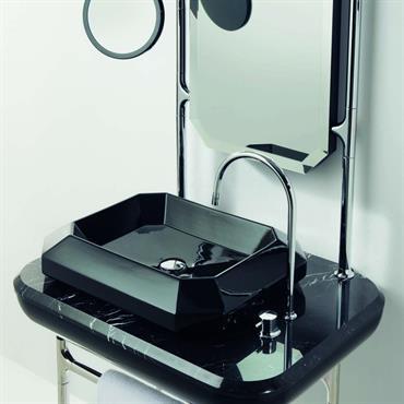 Console et lavabo noir collection Jaime Hayon